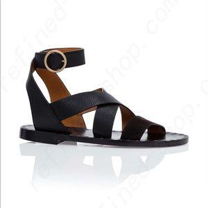 Chloé Women's Black Quinty Flat Sandal